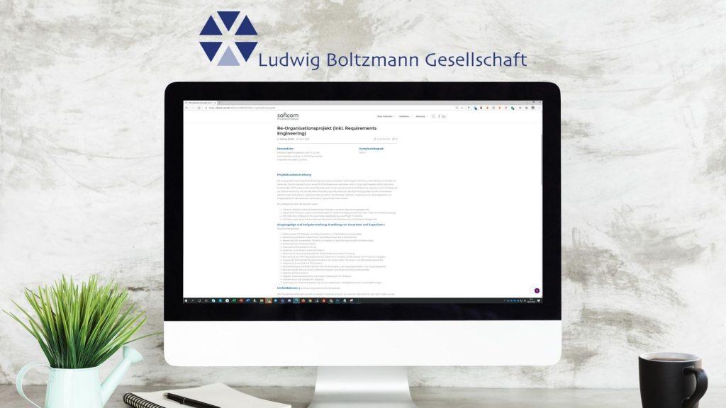 IT-Dienstleistung Case Studie Ludwig Boltzmann Gesellschaft