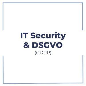 IT Security und DSGVO